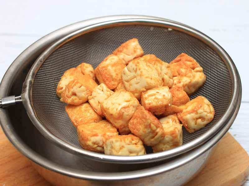金沙豆腐 - 熱炒廚炒● 外酥內嫩 5星級下酒菜