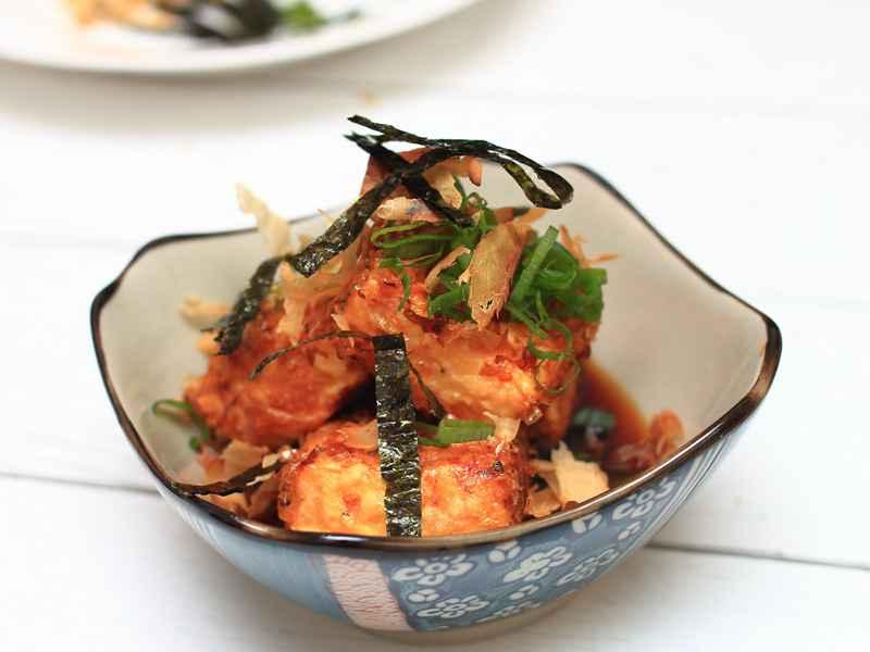 日式揚出豆腐 - 輕鬆做出日式料理店的專業滋味